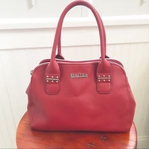 Kenneth Cole Reaction EUC Red Handbag